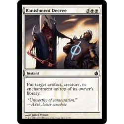Banishment Decree
